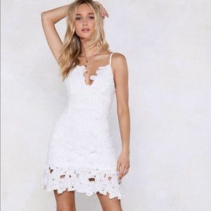 Dresses & Skirts - White Lace Dress.